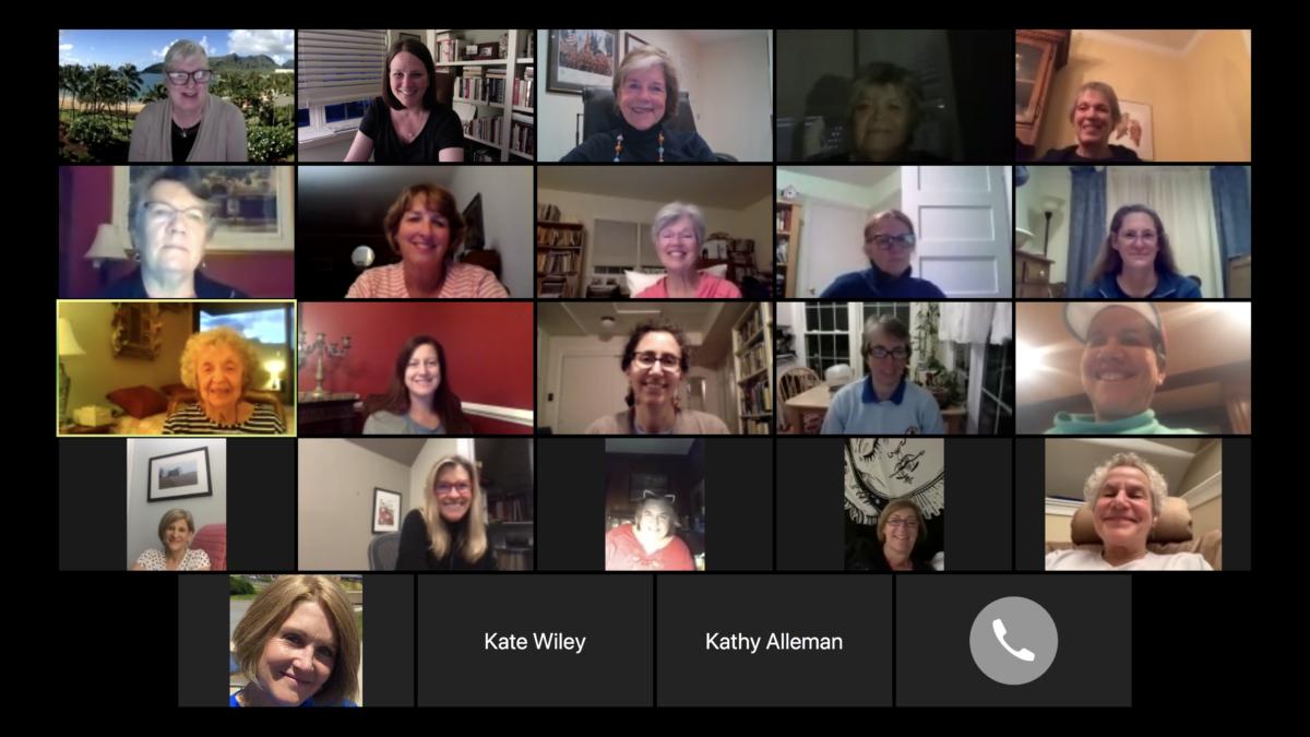 May 2020 Virtual Meeting